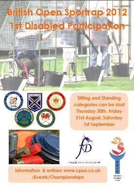 British Sportrap 2012 - flyer W